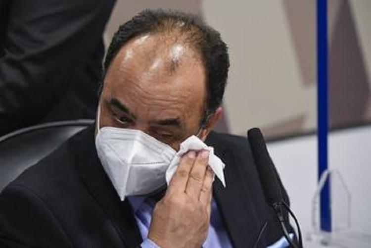 Amilton Gomes de Paula disse que cometeu um erro ao negociar vacinas e pediu perdão ao país   Foto: Ag. Senado - Foto: Ag. Senado
