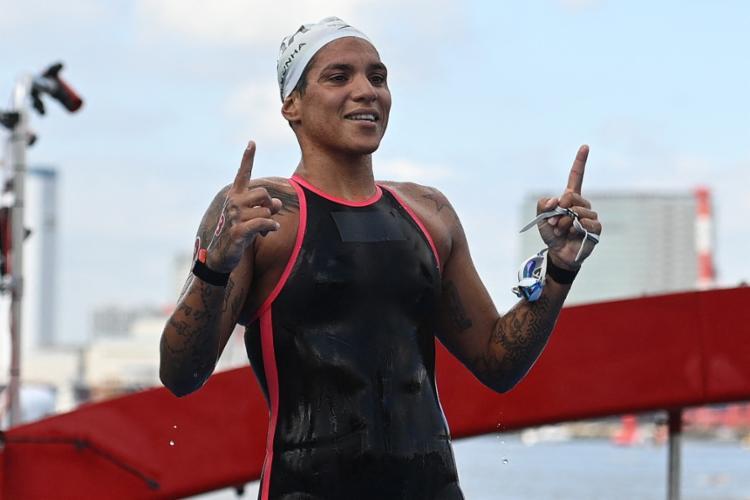 Dos 4 ouros conquistados pelo Brasil até aqui, 3 vieram de conquistas femininas   Foto: Olli Scarf   AFP - Foto: Olli Scarf   AFP