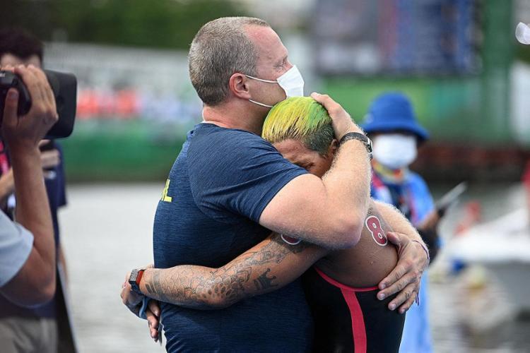 Após três frustrações em Jogos, veio a emoção | Foto: Oli Scarff | AFP - Foto: Oli Scarff | AFP