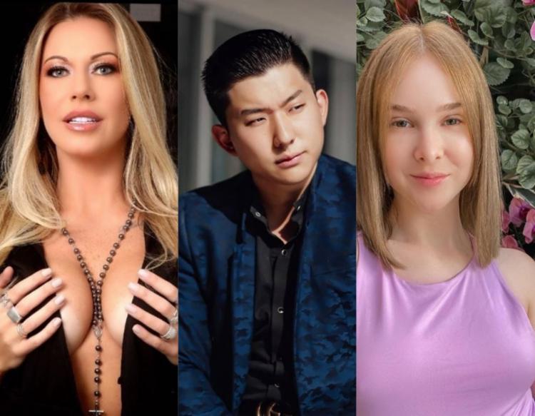 Antonella, Pyong e Sammy | Foto: Reprodução/ Instagram - Foto: Reprodução/ Instagram