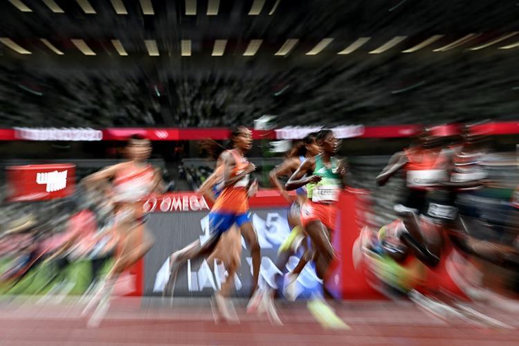 As provas de atletismo seguem neste 12º dia de competições em Tóquio | Foto: Jewel Samad | AFP - Foto: Jewel Samad | AFP