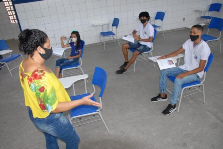 Turmas serão divididas em 50%   Foto: Divulgação   GOVBA - Foto: Divulgação   GOVBA