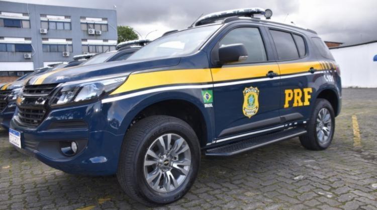 O flagrante aconteceu após perseguição a um veículo que desobedeceu a ordem de parada | Foto: Divulgação | PRF - Foto: Divulgação | PRF