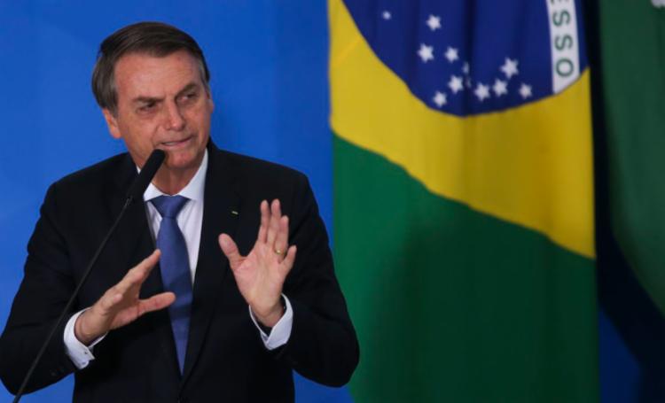 Em discurso improvisado nesta terça-feira , 31, durante visita à Uberlândia, em Minas Gerais, Bolsonaro afirmou que não há