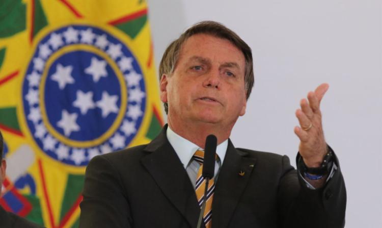 Presidente afirmou que não tem culpa na alta dos preços de produtos básicos e voltou a sugerir que população se arme - Foto: Fabio Rodrigues Pozzebom I Agência Brasil