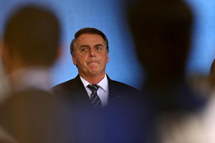 Nas redes sociais, a base de apoio do presidente ficou desnorteada | Foto: Evaristo Sa | AFP - Foto: Evaristo Sa | AFP