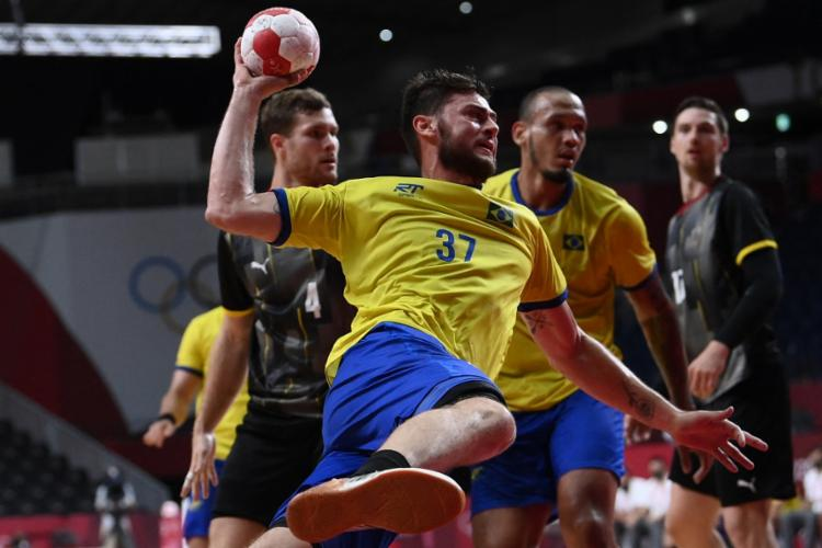 A seleção ficou com a vice-lanterna do grupo A, com 2 pontos, a frente somente da Argentina | Foto: Franck Fife | AFP - Foto: Franck Fife | AFP