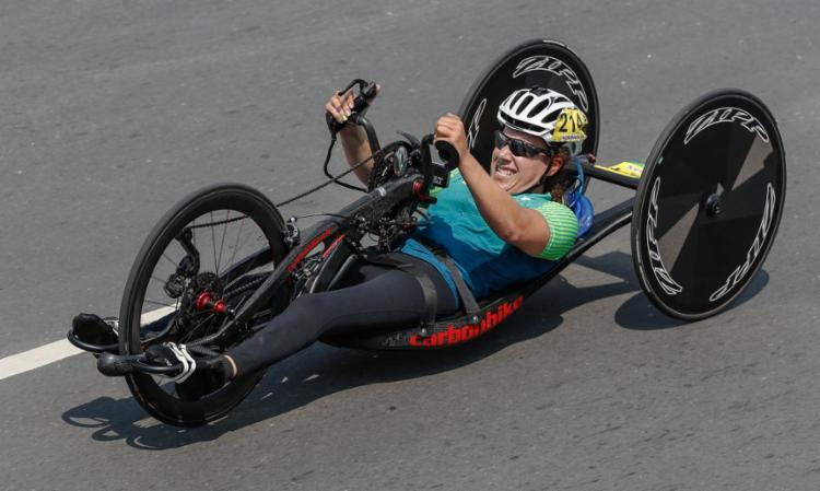 Brasil terá cinco atletas nas provas de pista e de estrada | Foto: Ale Cabral | CPB - Foto: Ale Cabral | CPB