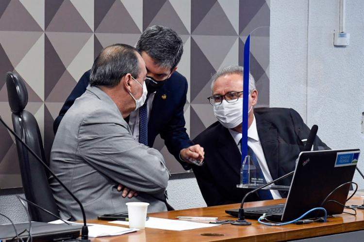 Os senadores que comandam a CPI da Pandemia   Foto: Roque de Sá   Agência Senado - Foto: Roque de Sá   Agência Senado
