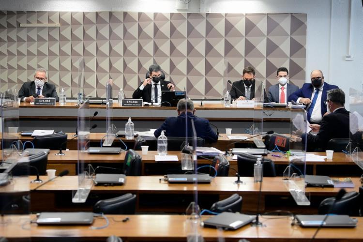 A atuação da empresa faz parte de uma das linhas de investigações da CPI   Foto: Pedro França   Agência Senado - Foto: Pedro França   Agência Senado
