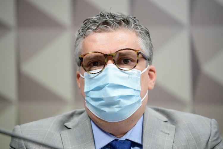 Roberto Pereira afirmou desconhecer pessoas envolvidas nos negócios da FIB Bank | Foto: Ag. Senado - Foto: Ag. Senado