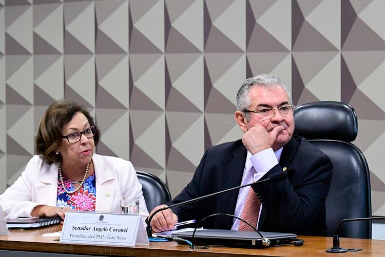 CPMI da Fake News tem a deputada baiana Lídice da Mata como relatora | Foto: Geraldo Magela/Agência Senado - Foto: Geraldo Magela/Agência Senado