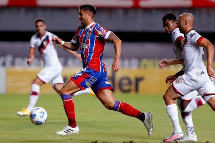 Bahia começou bem, mas levou a virada do adversário   Foto: Felipe Oliveira   EC Bahia   Divulgação - Foto: Felipe Oliveira   EC Bahia   Divulgação