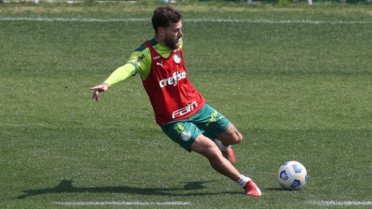 Lucas Lima é o novo jogador na mira da diretoria tricolor   Foto: Cesar Grecco   SE Palmeiras - Foto: Cesar Grecco   SE Palmeiras
