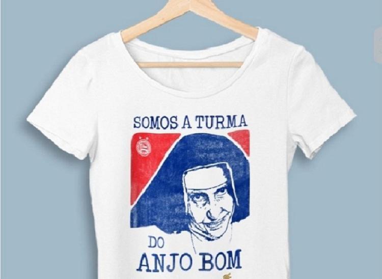 O Tricolor lançou uma camisa em homenagem a Dulce com todo o lucro revertido à Osid   Foto: Divulgação   EC Bahia - Foto: Divulgação   EC Bahia