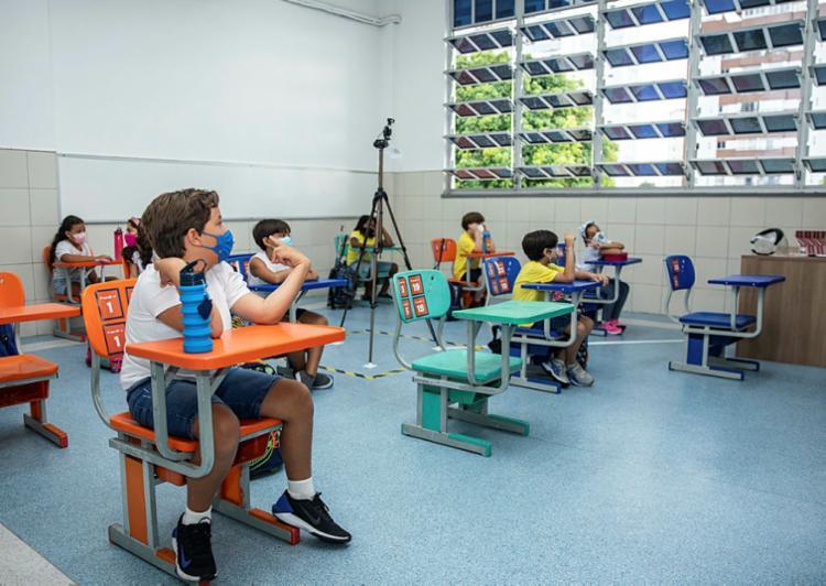 Aulas ocorrem no formato híbrido no Antônio Vieira | Foto: Paula Menezes | Secom CAV - Foto: Paula Menezes | Secom CAV