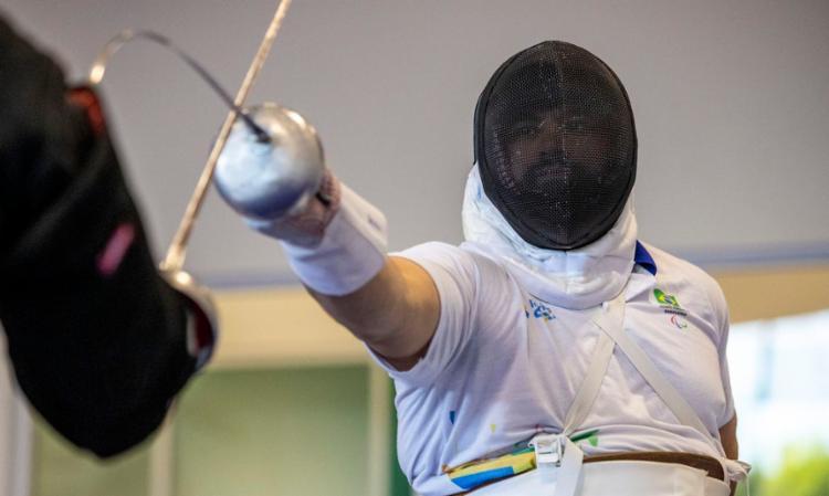 Gaúcho vence quatro das cinco lutas das classificatórias da espada | Foto: Ale Cabral | CPB - Foto: Ale Cabral | CPB