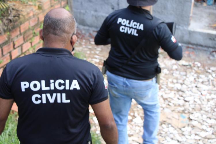 O indivíduo foi encontrado em um sítio, que fica localizado na zona rural do município   Foto: Divulgação   Polícia Civil - Foto: Divulgação   Polícia Civil