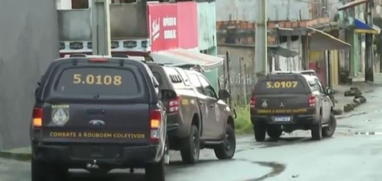 Desde a última semana, pelo menos outros três tiroteios foram registrados em Valéria   Foto: Reprodução   TV Bahia - Foto: Reprodução   TV Bahia