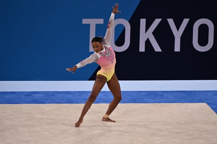 Brasileira fez história e ganhou duas medalhas em Tóquio | Foto: Lionel Bonaventure | AFP - Foto: Lionel Bonaventure | AFP