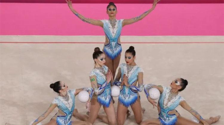 A ginástica rítmica estreia nos Jogos Olímpicos nesta quinta-feira, 5   Foto: Getty Images - Foto: Getty Images