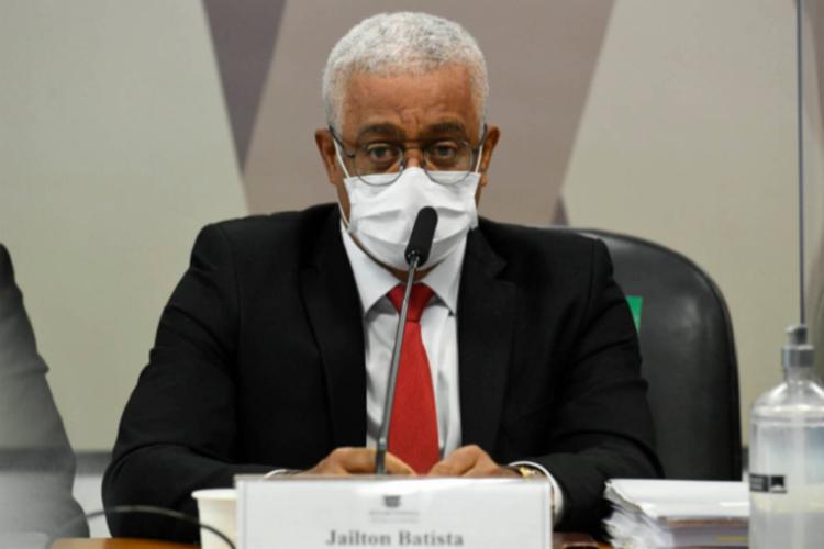 O diretor-executivo da farmacêutica Vitamedic, Jailton Barbosa, confirmou que a empresa bancou manifestos defendendo o tratamento precoce da Covid-19 | Foto: Ag. Senado - Foto: Ag. Senado