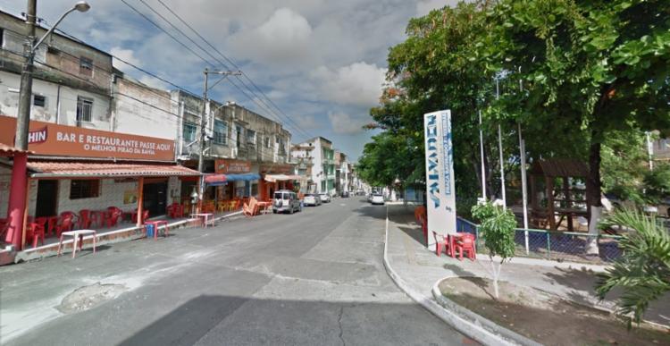 Suspeito foi encontrado na Ilha Verde, em Itaparica | Foto: Reprodução/ Google - Foto: Reprodução/ Google