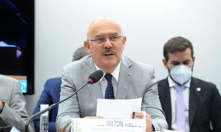 Milton Ribeiro falou na Comissão Mista do Orçamento   Foto: Cleia Viana   Câmara dos Deputados - Foto: Cleia Viana   Câmara dos Deputados