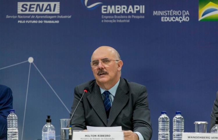 Ministro criticou os reitores de federais por posicionamento contra o governo | Foto: Diego Rochca/ MEC - Foto: Diego Rochca/ MEC