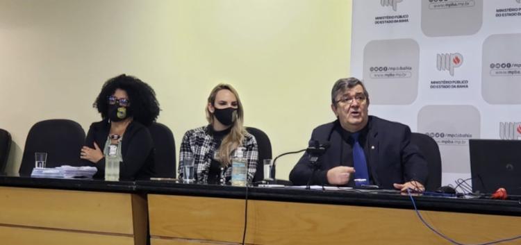 Prisão preventiva do médico Rodolfo Cordeiro foi pedida pelo promotor do MP-BA Davi Gallo, que concedeu coletiva sobre o caso nesta quinta-feira, 5 - Foto: Divulgação