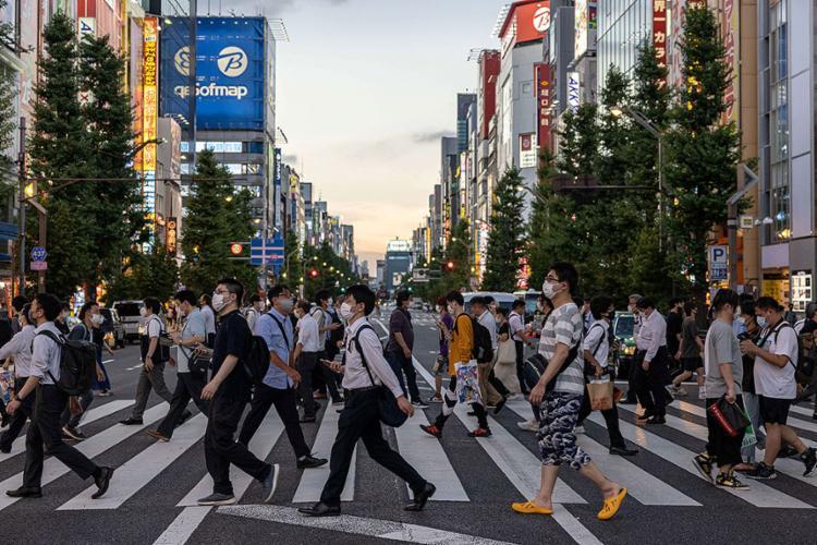 Pesquisas de opinião mostraram que os jovens estavam menos interessados na Olimpíadas   Foto: Yuki Iwamura   AFP - Foto: Yuki Iwamura   AFP