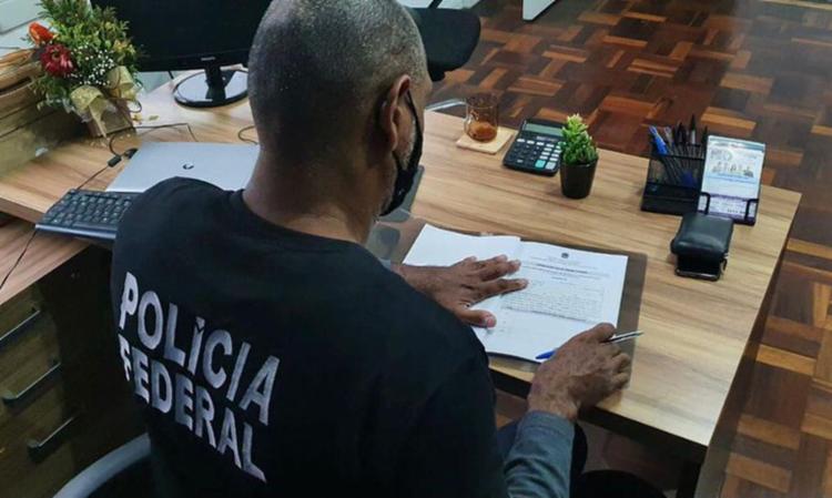 Ação também apura tráfico de influência na seccional paulista   Foto: Polícia Federal - Foto: Polícia Federal