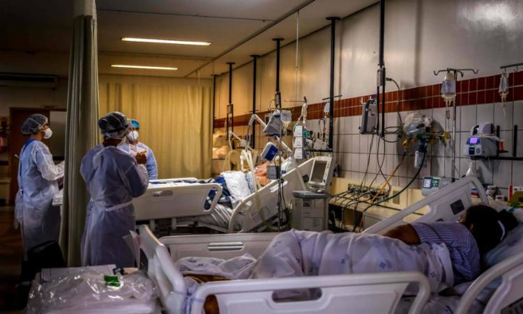 Segundo MS, 79% da população já foi imunizada com a 1ª dose   Foto: Silvio Avila   AFP - Foto: Silvio Avila   AFP