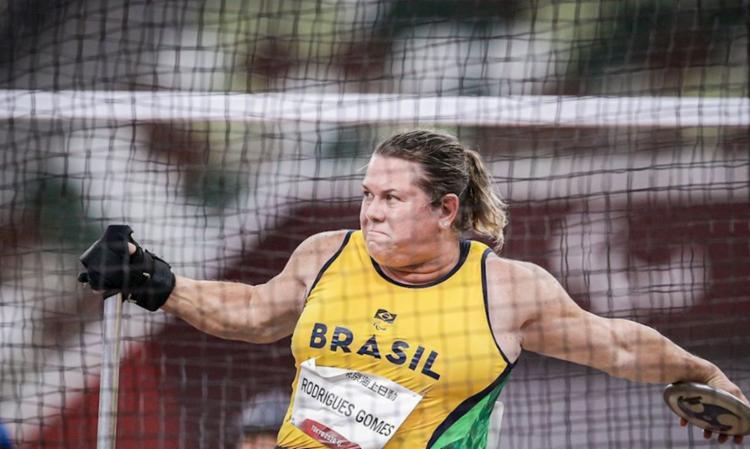 Brasileira conseguiu 17,62 m, dois metros a mais que segunda colocada   Foto: Wander Roberto   CPB   Direitos Reservados - Foto: Wander Roberto   CPB   Direitos Reservados