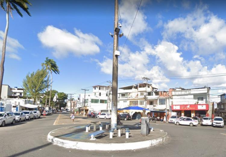 Crime aconteceu na Rua da Pitangueiras, em Fazenda Grande do Retiro   Foto: Reprodução   Google Street View - Foto: Reprodução   Google Street View