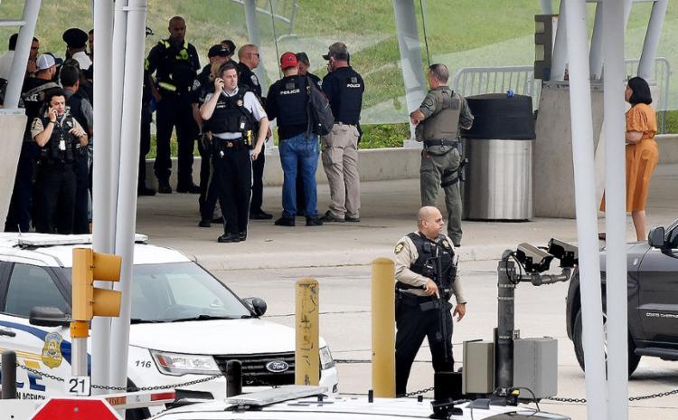 Pentágono ficou em alerta ontem após relatos de tiroteio na região | Foto: Olivier Douliery | AFP - Foto: Olivier Douliery | AFP