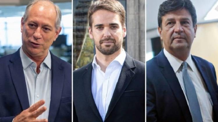 Ciro, Leite e Mandetta condenaram retorno das coligações proporcionais   Fotos: Divulgação - Foto: Divulgação