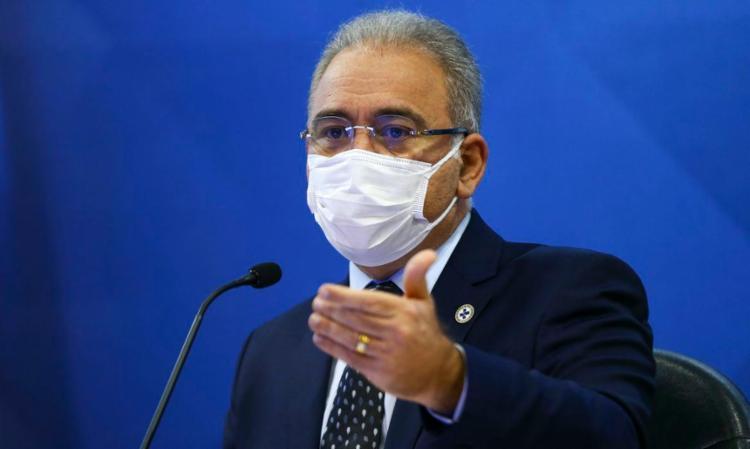 Ministro deu declaração após ser questionado por falta de vacina da Astrazeneca | Foto: Marcelo Camargo | Agência Brasil - Foto: Marcelo Camargo | Agência Brasil