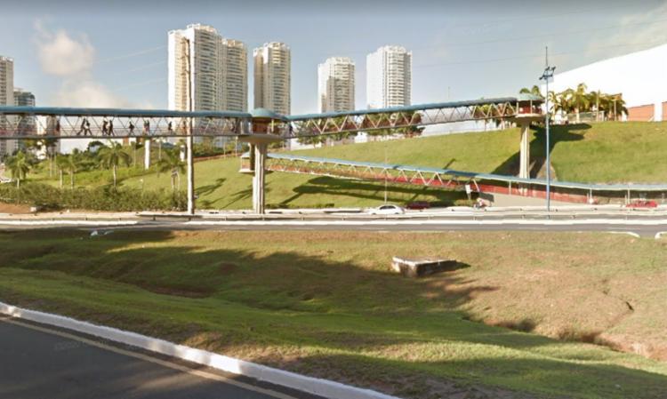 O caso aconteceu no trajeto que liga a estaçao de metrô com o Shopping Bela Vista - Foto: Reprodução | Google Street View
