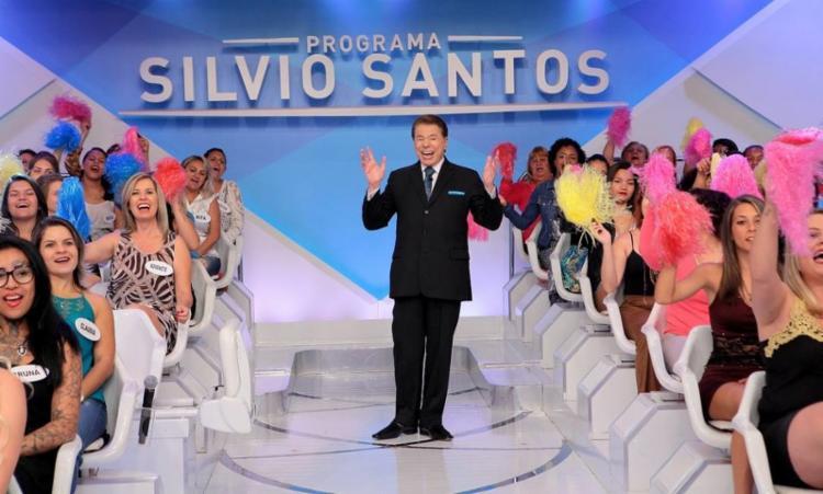 Apresentador foi internado na sexta-feira com covid-19  Foto: Divulgação - Foto: Divulgação