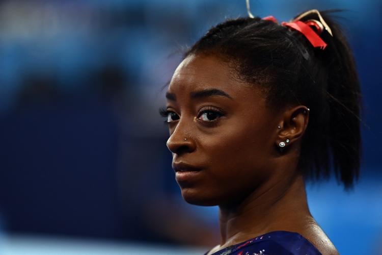 Favorita nas finais da ginástica desistiu de competir para preservar sua saúde mental | Foto: Loic Venance | AFP - Foto: Loic Venance | AFP