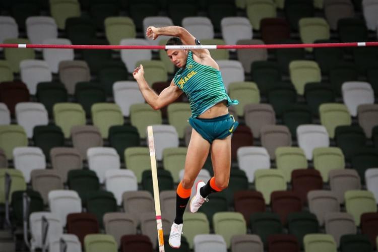 Essa foi a 14ª medalha brasileira, que já tem outras três garantidas | Foto: Gaspar Nóbrega | COB - Foto: Gaspar Nóbrega | COB