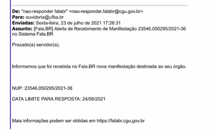 CGU enviou solicitação de informações à Ufba no dia 23 de Julho após abertura de investigação