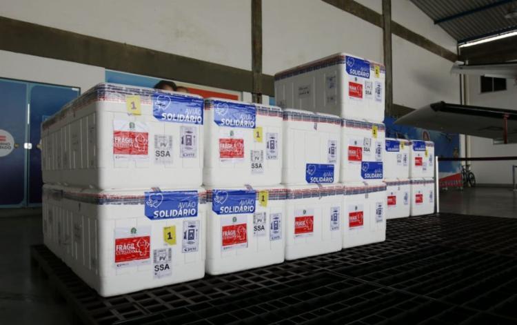 Os novos lotes são das vacinas Coronavac e Pfizer - Foto: Divulgação | GOVBA