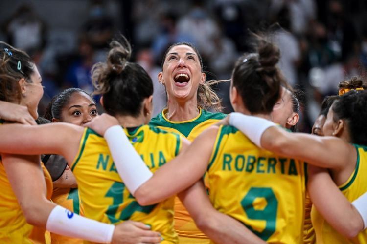 Brasil encara os Estados Unidos na decisão dos Jogos Olímpicos   Foto: Yuri Cortez   AFP - Foto: Yuri Cortez   AFP