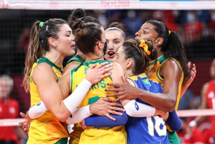 Brasileiras foram derrotadas por 3 sets a 0 | Foto: Gaspar Nóbrega | COB - Foto: Gaspar Nóbrega | COB