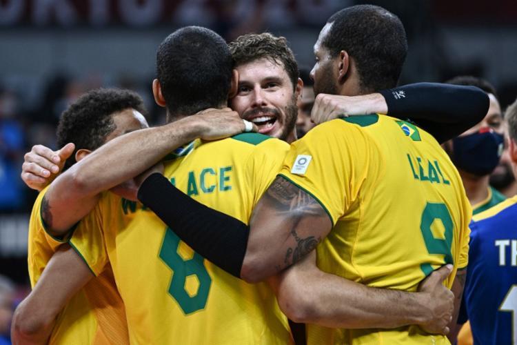 Com esta vitória, o Brasil se classificou para as quartas de final   Foto: Anne-Christine Poujoulat   AFP - Foto: Anne-Christine Poujoulat   AFP