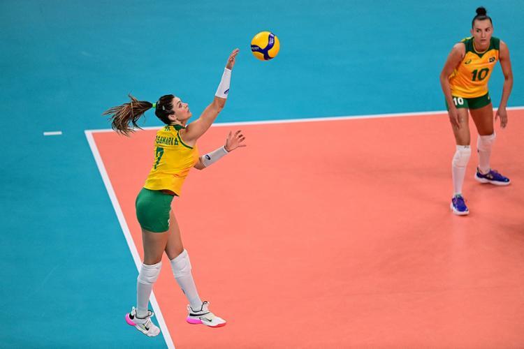 Vôlei feminino do Brasil vai em busca da quinta medalha olímpica no domingo, 8 | Foto: Pedro Pardo | AFP - Foto: Pedro Pardo | AFP