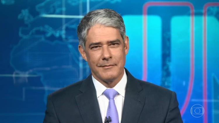 Ele estava relutante em seguir à frente do principal jornal da Globo   Foto: Reprodução/ Globo - Foto: Reprodução/ Globo