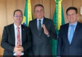 Após anúncio de expulsão do PDT, Alex Santana se reúne com Bolsonaro e João Roma | Foto: Reprodução I Instagram